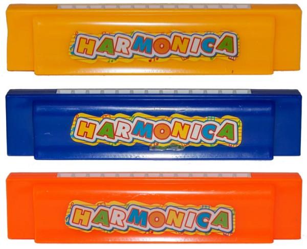 Mundharmonika Mund Harmonika Bunt Plastik Mitgebsel Kinder Instrument Musik