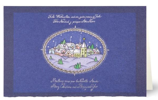 """Weihnachtskarten Grußkarten Weihnachtskarte """"Weihnachten/gutes neues Jahre"""", plano, vorgefalzt, bedruckbar, Mayspies 7667 (20 Stück)"""