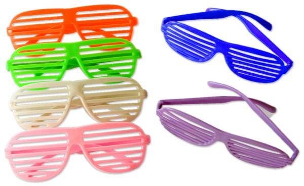 Brille Atzenbrille Partybrille Party Karneval Atzen (2 Stück)