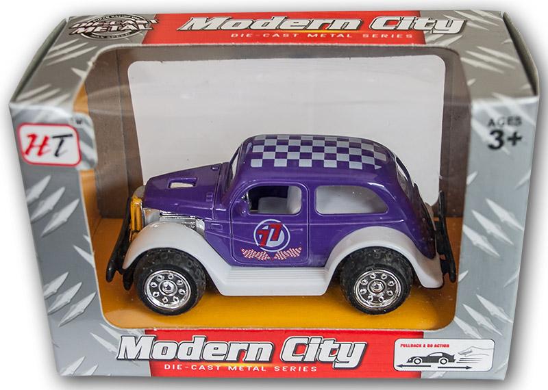 Die Cast Metal Oldtimer Rennwagen Auto 5 cm Friktionsantrieb A Großhandel & Sonderposten Spielzeug