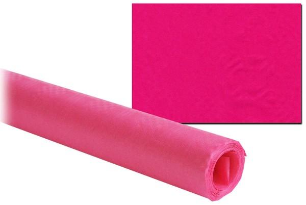 Damasttischtuch Damast-Tischdecke Pink 8 m x 1 m Rolle 45g/m2 Party Geburtstag (1 Stück)