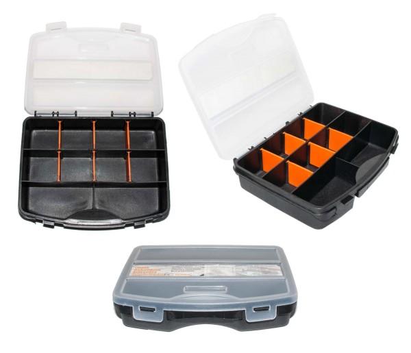 Sortierkästen in 5 verschiedenen Größen Sortimentskasten Kleinteile Stapelbox Box