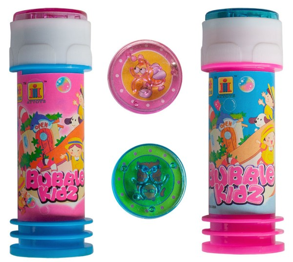 Seifenblasen mit Geduldspiel 25 ml Bursting Bubbles Mitgebsel Party Tombola