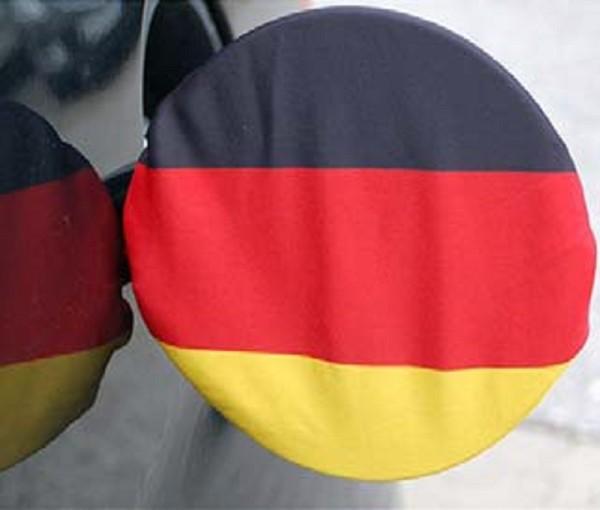Tankdeckel-Überzug Tankdeckelfahne Deutschland Fahne Flagge EM WM Fanartikel (1 Stück)