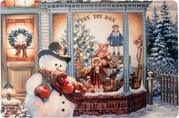 Weihnachten Platzdeckchen Platzset Platzmatte Tischset Nostalgie Retro 28152 (4 Stück)