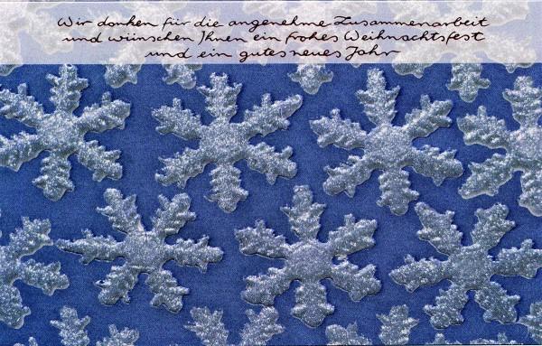 Weihnachtskarten Kristalle Geschäftlich 200 g/m² bedruckbar Mayspies 7763 (20 Stück)