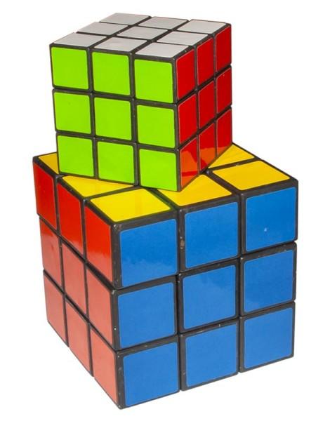 Zauberwürfel in 3 Größen Zauber Würfel 80er Jahre Kult Dreh Puzzle Magic Cube