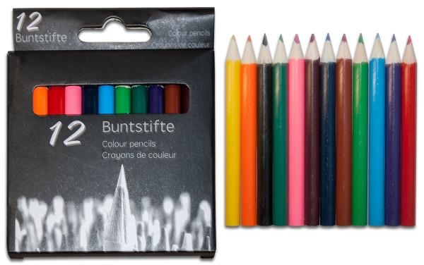 Buntstifte Buntstift Stifte Malstifte Holzstifte Farbstifte lackiert 9 cm