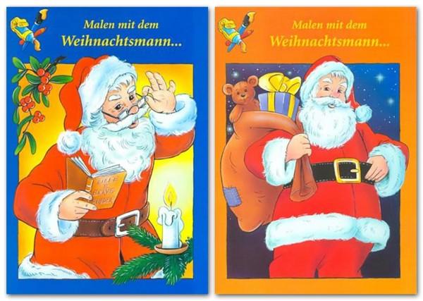 Malbuch Weihnachtsmotive A4 32 Seiten Weihnachten