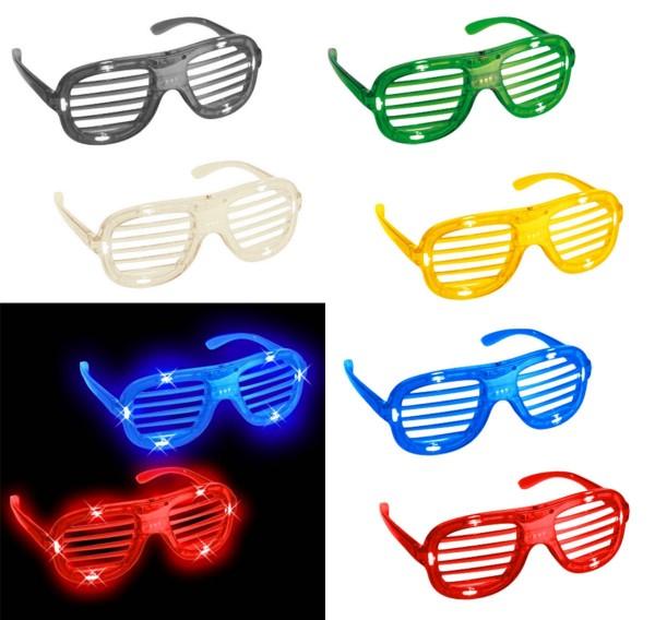 Partybrille mit LEDs