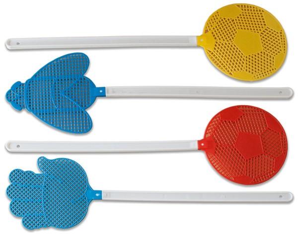 Fliegenklatsche Design Fliegenfänger Fliegenfalle Insektenfalle (48 Stück)