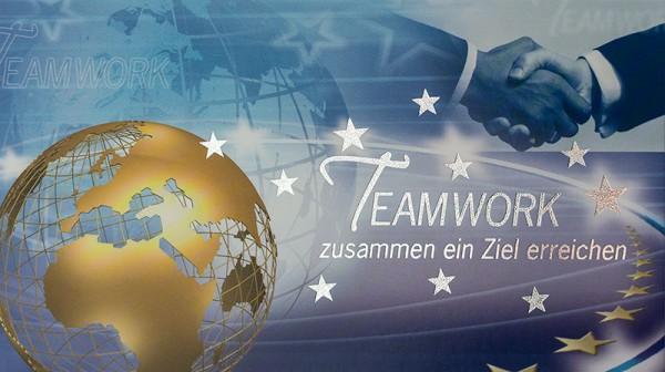 Weihnachtskarten Grußkarten Teamwork plano bedruckbar 230 g/m² inklusive Umschlägen Mayspies Prestige 7039 (20 Stück)