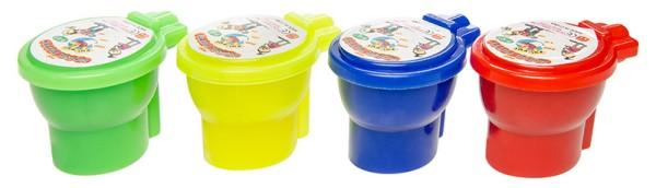 WC Pupsschleim Schleim 4 Farben Slime im Klo Furzschleim Slimey Halloween